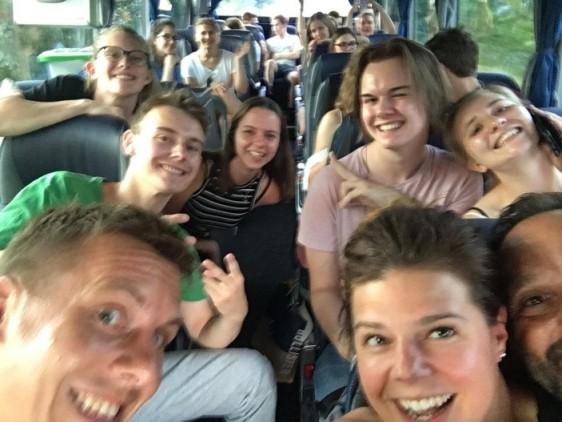 Mit dem Bus nach Barcelona!